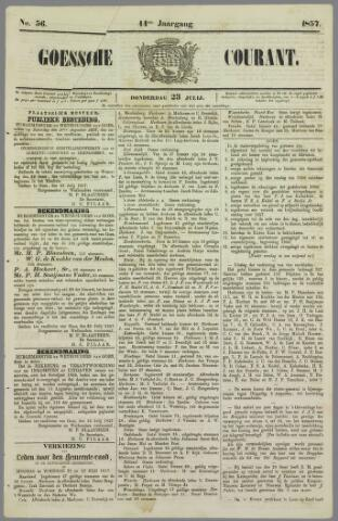 Goessche Courant 1857-07-23