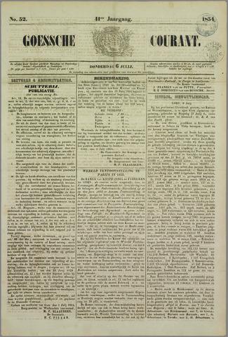 Goessche Courant 1854-07-06