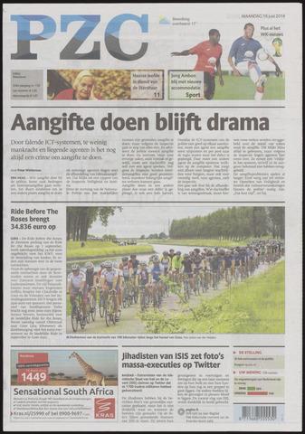 Provinciale Zeeuwse Courant 2014-06-16
