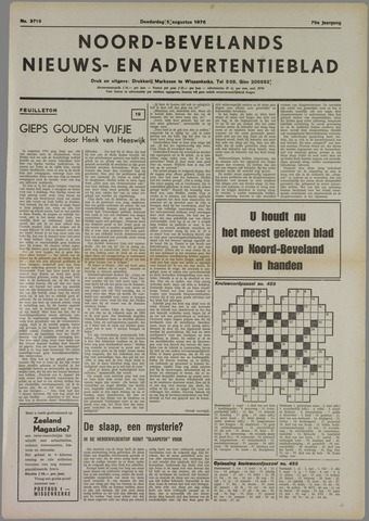 Noord-Bevelands Nieuws- en advertentieblad 1976-08-05