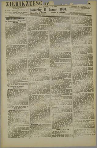Zierikzeesche Nieuwsbode 1900-01-11