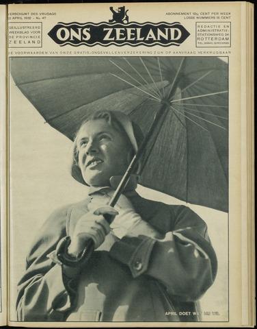 Ons Zeeland / Zeeuwsche editie 1932-04-22