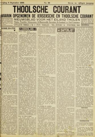 Ierseksche en Thoolsche Courant 1939-09-08