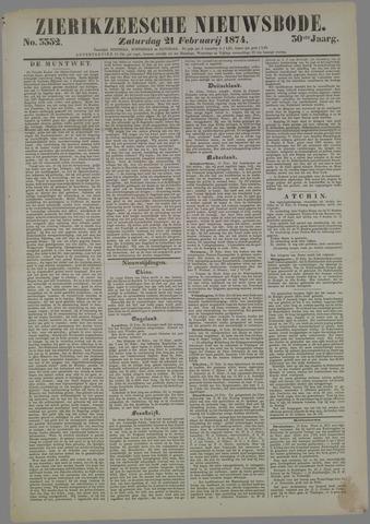 Zierikzeesche Nieuwsbode 1874-02-21