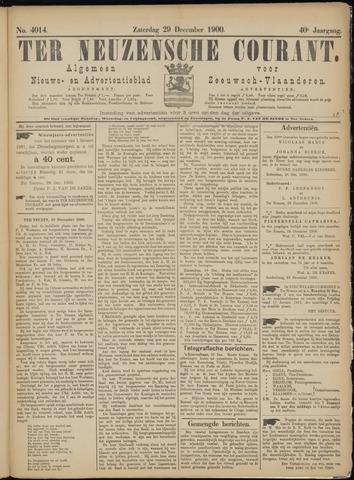 Ter Neuzensche Courant. Algemeen Nieuws- en Advertentieblad voor Zeeuwsch-Vlaanderen / Neuzensche Courant ... (idem) / (Algemeen) nieuws en advertentieblad voor Zeeuwsch-Vlaanderen 1900-12-29