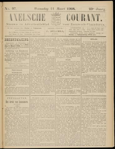 Axelsche Courant 1908-03-11