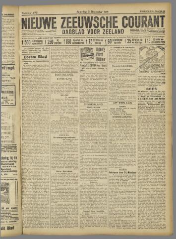 Nieuwe Zeeuwsche Courant 1921-12-03