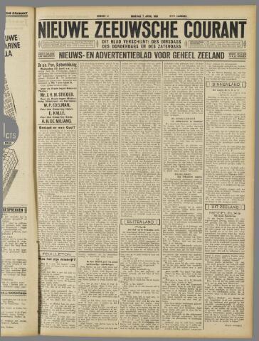 Nieuwe Zeeuwsche Courant 1931-04-07