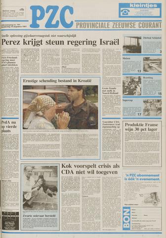 Provinciale Zeeuwse Courant 1991-08-15