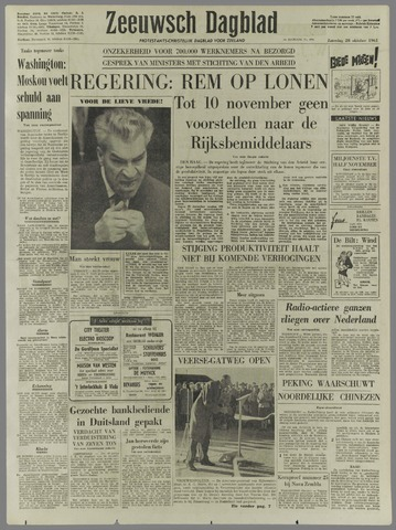 Zeeuwsch Dagblad 1961-10-28