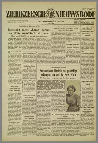 Zierikzeesche Nieuwsbode 1959-09-14