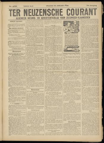 Ter Neuzensche Courant. Algemeen Nieuws- en Advertentieblad voor Zeeuwsch-Vlaanderen / Neuzensche Courant ... (idem) / (Algemeen) nieuws en advertentieblad voor Zeeuwsch-Vlaanderen 1934-01-19