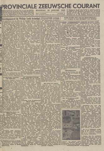 Provinciale Zeeuwse Courant 1943-01-18