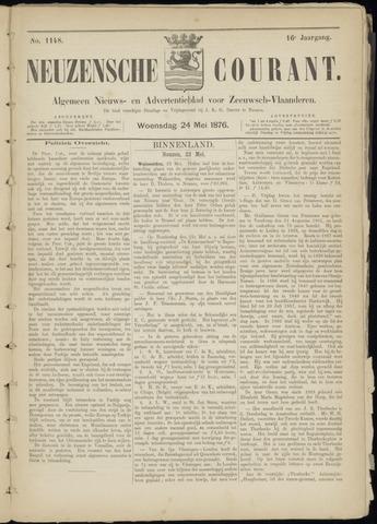 Ter Neuzensche Courant. Algemeen Nieuws- en Advertentieblad voor Zeeuwsch-Vlaanderen / Neuzensche Courant ... (idem) / (Algemeen) nieuws en advertentieblad voor Zeeuwsch-Vlaanderen 1876-05-24