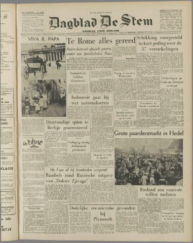 de Stem 1958-11-04