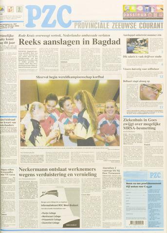 Provinciale Zeeuwse Courant 2003-10-28