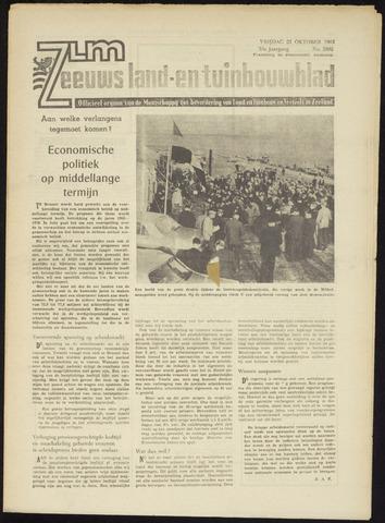Zeeuwsch landbouwblad ... ZLM land- en tuinbouwblad 1965-10-22