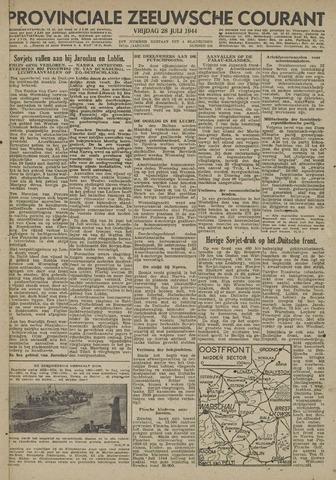 Provinciale Zeeuwse Courant 1944-07-28