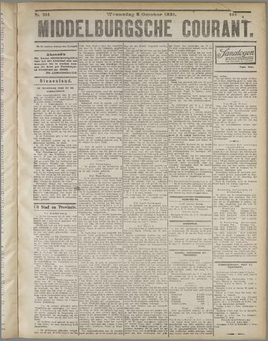 Middelburgsche Courant 1921-10-05