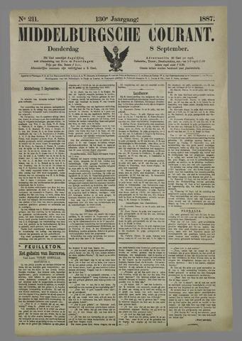 Middelburgsche Courant 1887-09-08