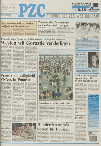 Provinciale Zeeuwse Courant 1995-07-17
