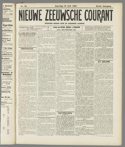 Nieuwe Zeeuwsche Courant 1907-07-20