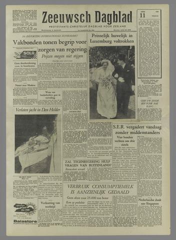 Zeeuwsch Dagblad 1958-04-11