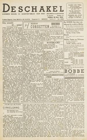 De Schakel 1954-11-26