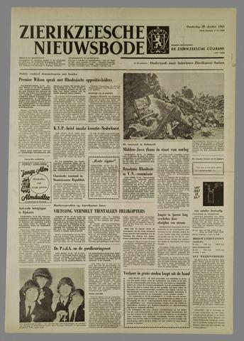 Zierikzeesche Nieuwsbode 1965-10-28