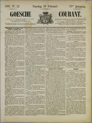 Goessche Courant 1883-02-20