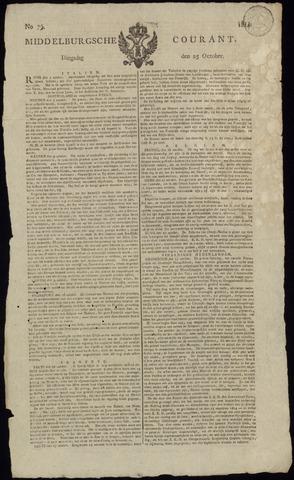 Middelburgsche Courant 1814-10-25