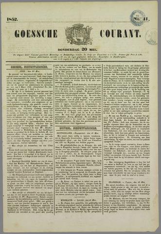 Goessche Courant 1852-05-20