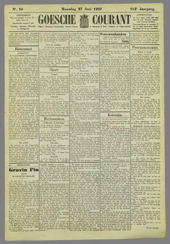 Goessche Courant 1927-06-27