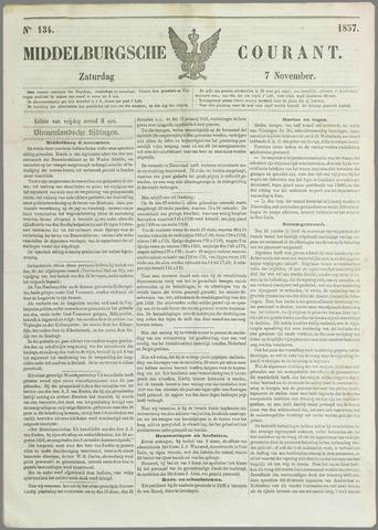 Middelburgsche Courant 1857-11-07