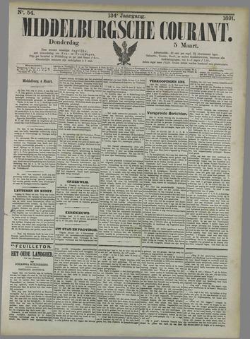 Middelburgsche Courant 1891-03-05