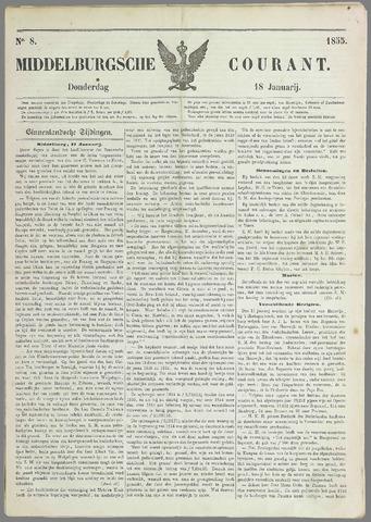 Middelburgsche Courant 1855-01-18
