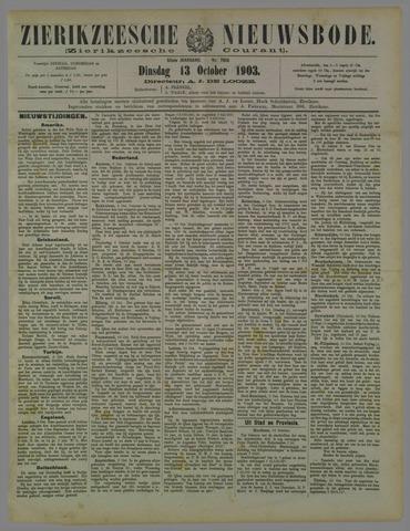 Zierikzeesche Nieuwsbode 1903-10-13
