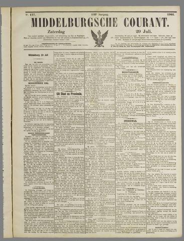Middelburgsche Courant 1905-07-29