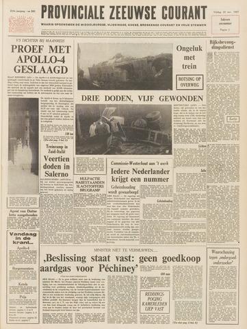 Provinciale Zeeuwse Courant 1967-11-10