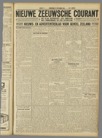 Nieuwe Zeeuwsche Courant 1928-09-27