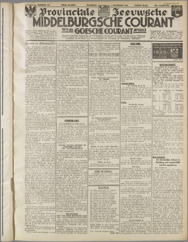 Middelburgsche Courant 1937-11-01