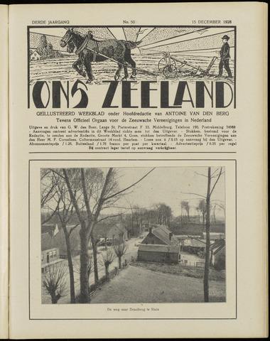 Ons Zeeland / Zeeuwsche editie 1928-12-15