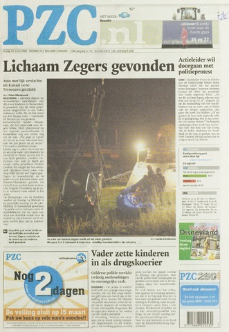 Provinciale Zeeuwse Courant 2008-03-14