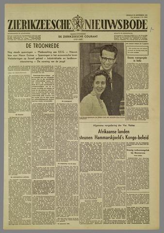 Zierikzeesche Nieuwsbode 1960-09-20