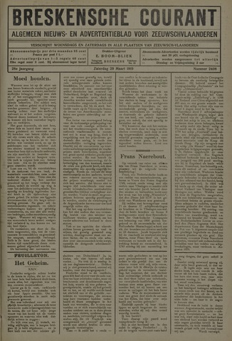 Breskensche Courant 1919-03-29