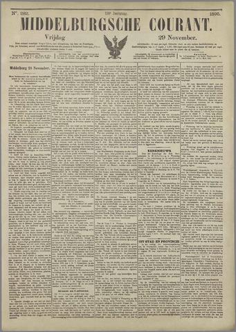 Middelburgsche Courant 1895-11-29