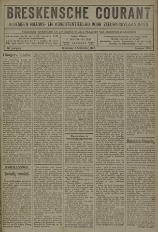 Breskensche Courant 1922-09-06