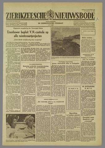Zierikzeesche Nieuwsbode 1960-09-23