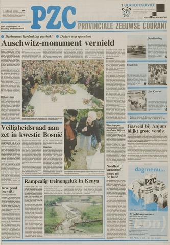 Provinciale Zeeuwse Courant 1993-02-01