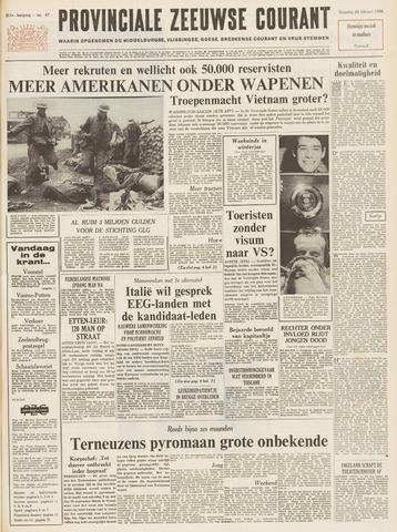 Provinciale Zeeuwse Courant 1968-02-24